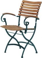 4 Seasons Outdoor Bellini folding chair with arm