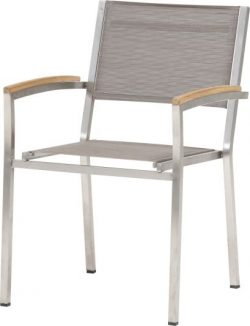 4 Seasons Outdoor Nexxt stackable chair mocca