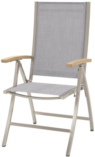 4 Seasons Outdoor Nexxt adjustable chair ash grey