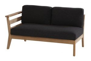4 seasons outdoor polo 2 seaters bench right