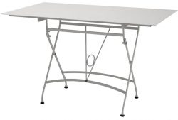 4 Seasons Outdoor Belle table steel top