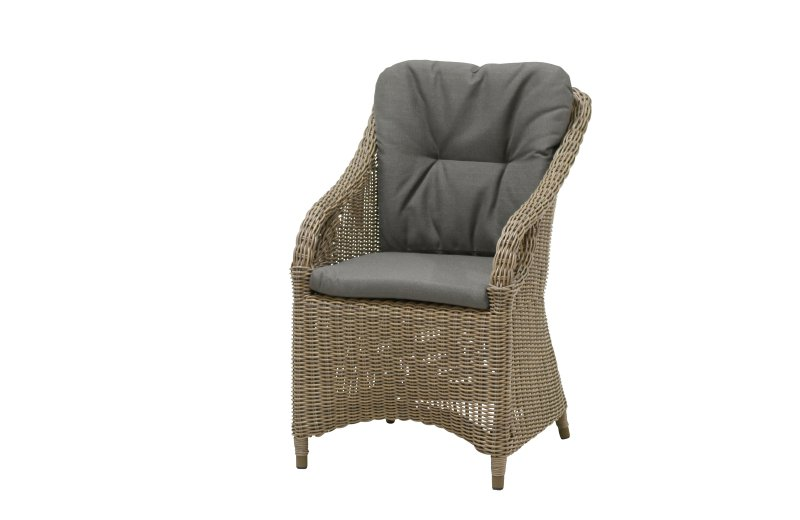 4 Seasons Outdoor vasco dining chair pure