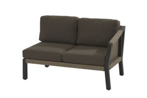 4 Seasons Outdoor 2 seater left arm
