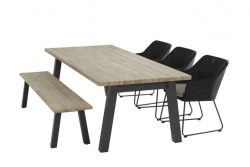 4 Seasons Outdoor Avila tuinset met sportbench derby en derby 240 tafel