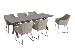 4 Seasons Outdoor Avila eetset met vesper tafel