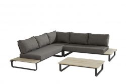 4 Seasons Outdoor Delta hoekbank platform loungeset