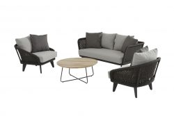 4 Seasons outdoor Belize stoel-bank loungeset axel tafel