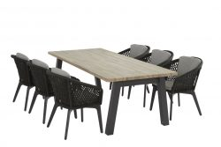 4 Seasons Outdoor Belize met derby teak tafel