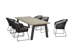 4 Seasons Outdoor Mila derby tafel 240 cm