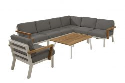 4 Seasons Outdoor Byron looungeset met stoel