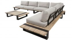 4 Seasons Outdoor Duke hoekbank platform loungeset
