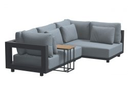 4 Seasons Outdoor Metropolitan chaise loungeset met Solido bijzettafel