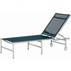 4 Seasons Outdoor Plaza sunbed black