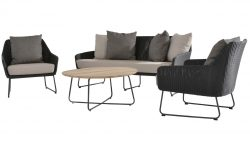4 Seasons Outdoor avila loungeset met axel tafel