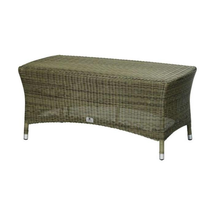 Taupe Wicker Coffee Table: Sussex Coffee Table, Polyloom Taupe