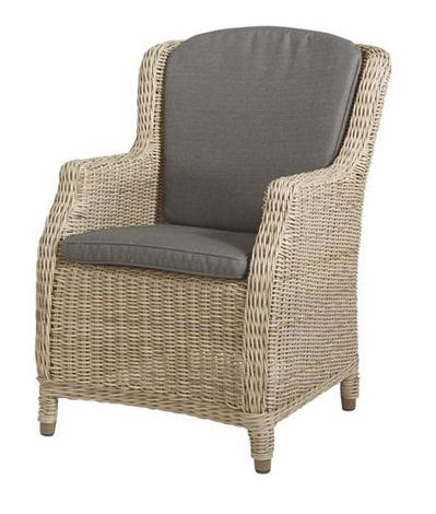 4 Seasons Outdoor dining chair pure
