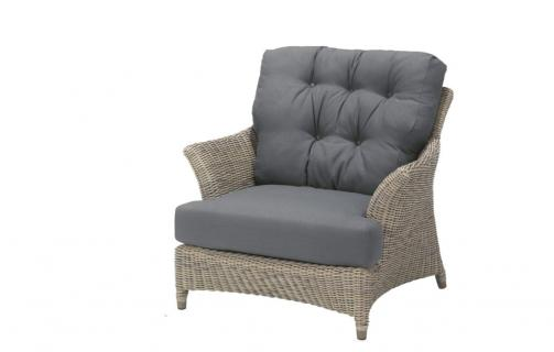 4 Seasons Outdoor Valentine living chair, pure