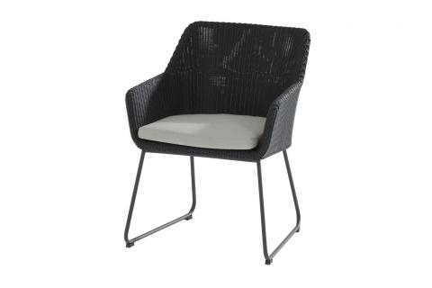213356_ Avila dining chair Polyloom Anthracite 01