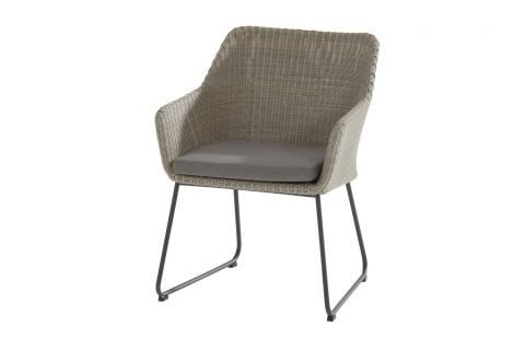 213358_ Avila dining chair Polyloom Pebble 01