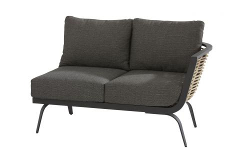 19579_ Antibes 2-seater bench with Left arm