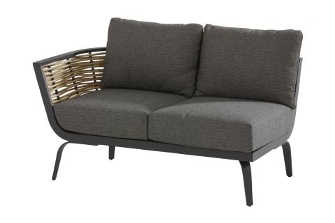 19580_ Antibes 2-seater bench with Right arm