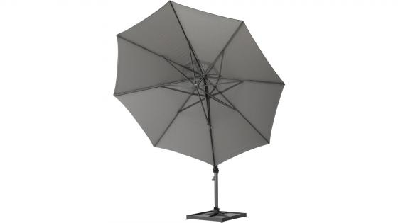 4 Seasons Outdoor Siesta parasol rond 350 cm charcoal