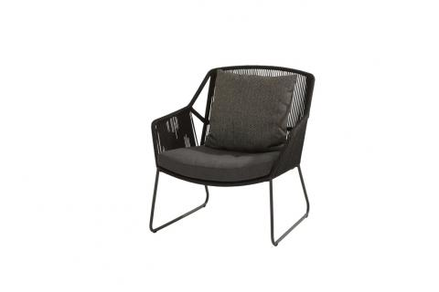 4So Accor Living Chair Chair Antraciet van 4 seasons outdoor
