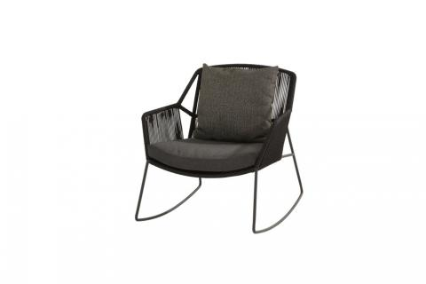 4So Accor Rocking Chair Antraciet van 4 seasons outdoor