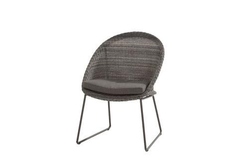 4SO Hampton dining chair charcoal van 4 seasons outdoor