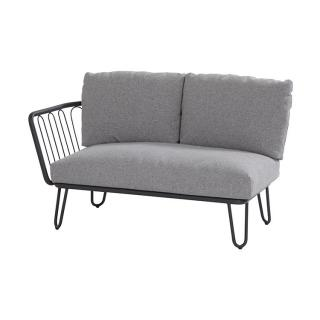 4 Seasons Outdoor Premium 2 Seater bench right arm